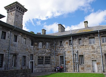 The Gaol at Beaumaris is a popular attraction