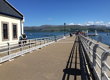 Beaumaris Pier on Anglesey