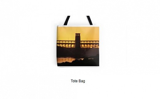 Britannia Bridge Sunset Merchandise