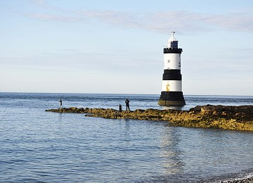 There is some great fishing to be had at Penmon Point