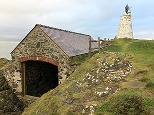 the old lifeboat station on llanddwyn Island
