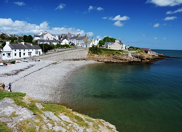 Moelfre and its beautiful South beach