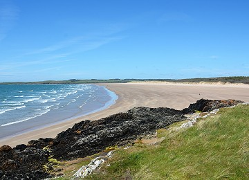 The northern beach at Newborough