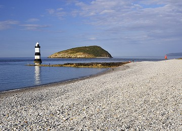 Trwyn Du Lighthouse and Puffin Island