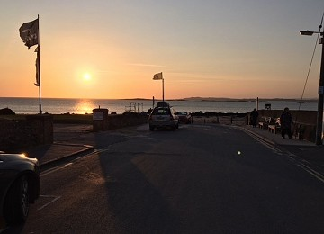 Sunset at Rhosneigr on Anglesey