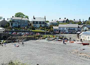 South beach at Moelfre