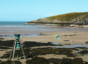 Remove   The tidal bell at cemaes bay
