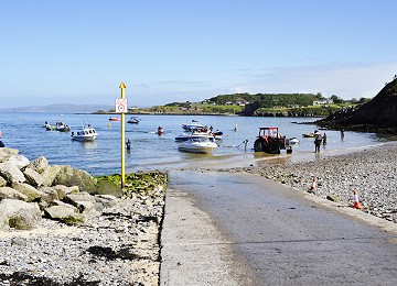 Water Sports is popular at Traeth Bychan